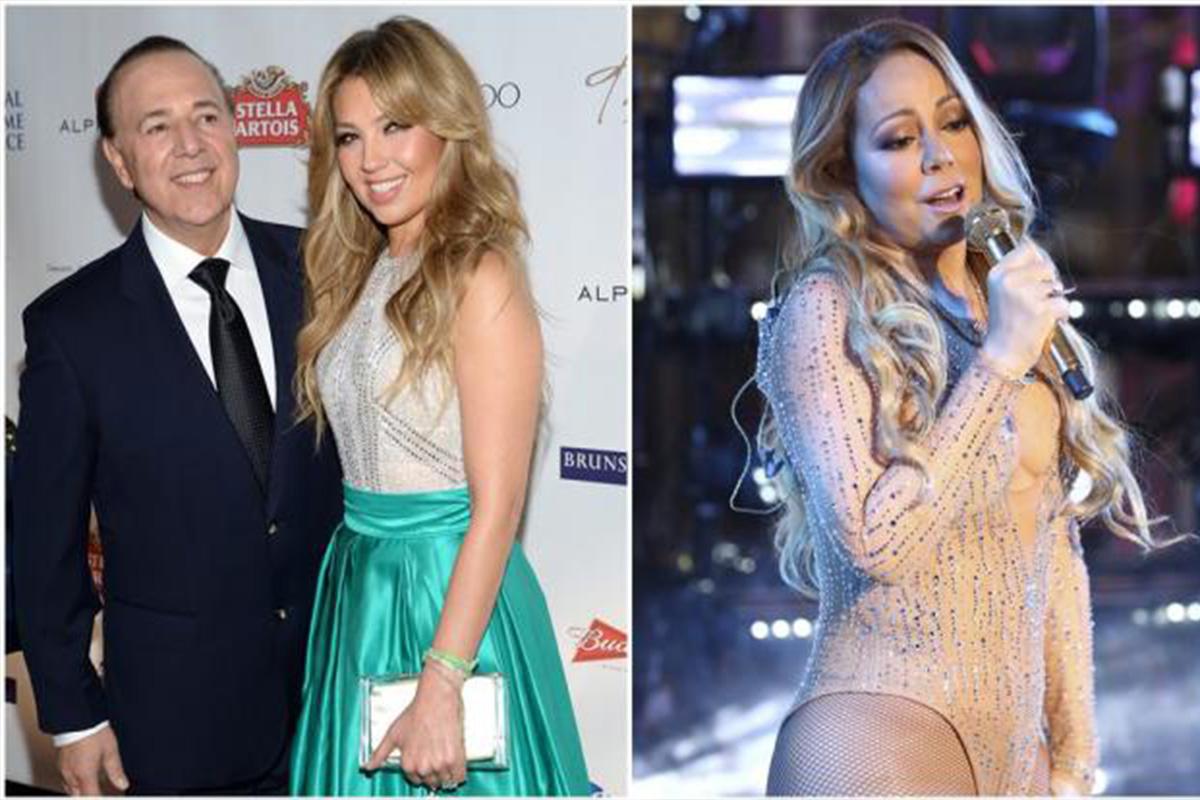 Esposo de Thalía defiende a su ex Mariah Carey ...