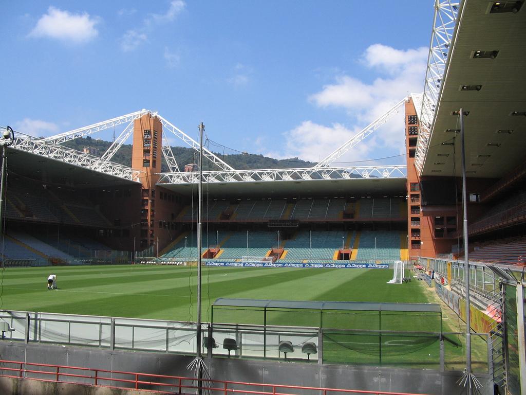 El estadio Luigi Ferraris en Génova, Italia. Foto Internet