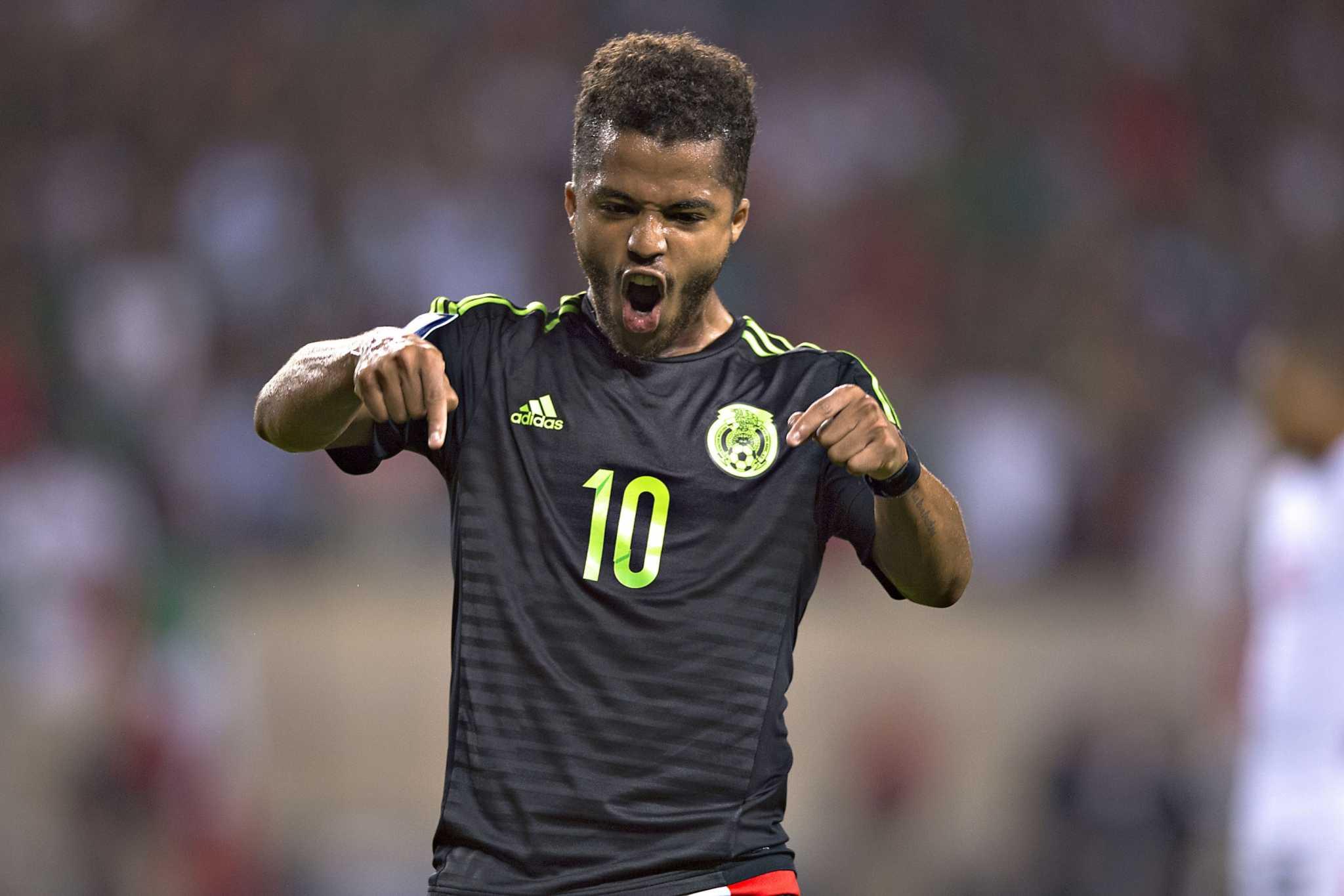 Giovani Dos Santos, listo para dirigir la ofensiva Tricolor ...