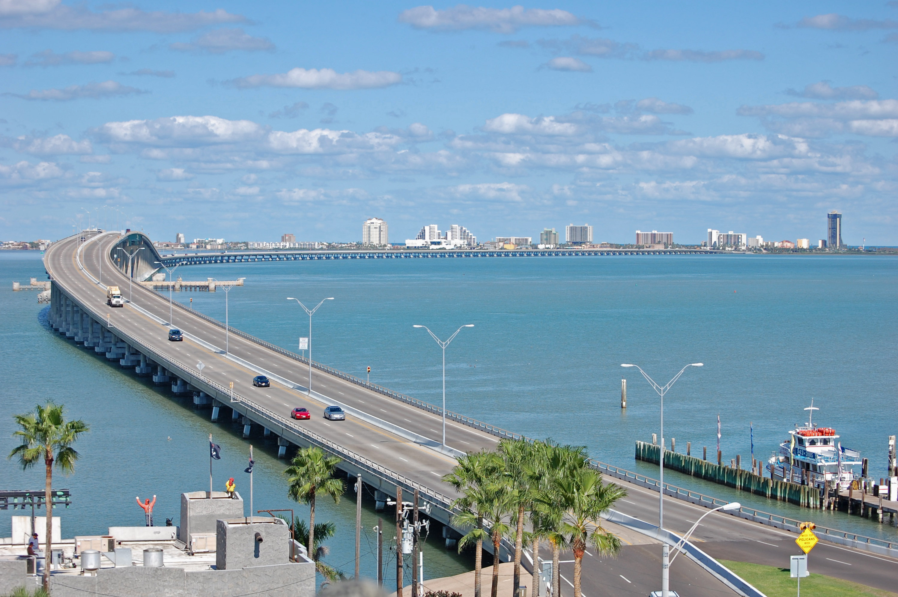 Pictures Of South Padre Island Bridge