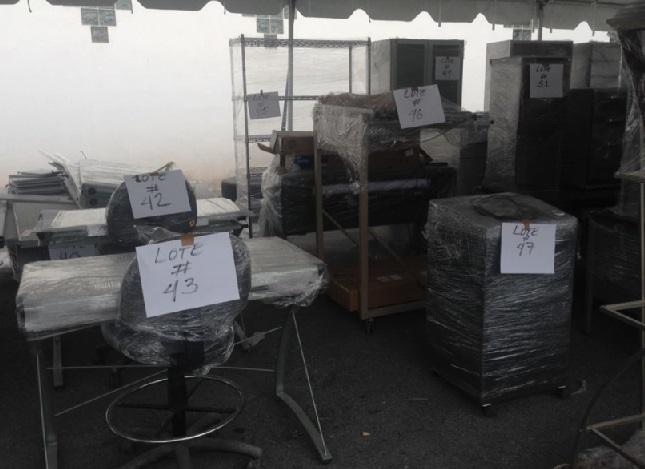 Invita consulado de eeuu a subasta de muebles for Muebles de oficina nuevo laredo